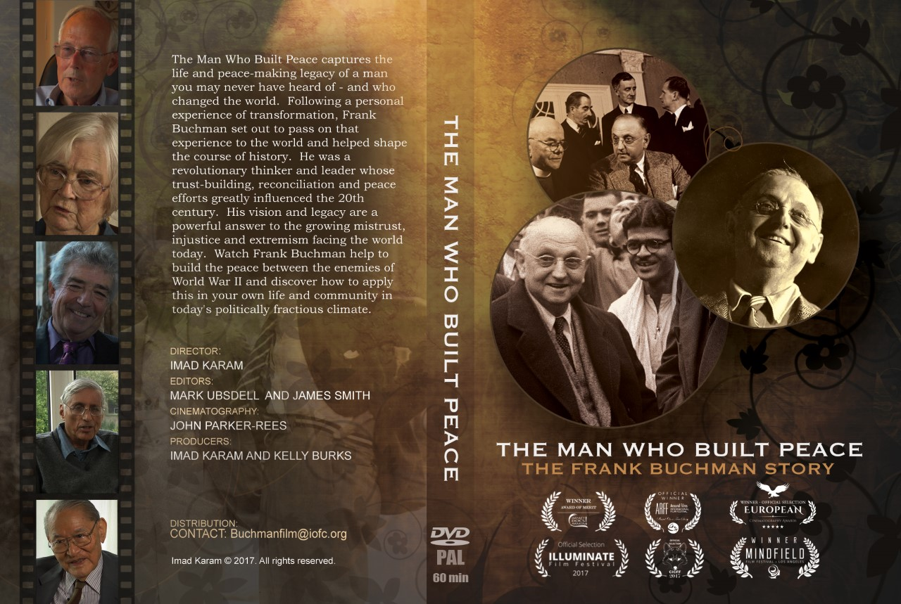 22.02.18  |  The Man Who Built Peace  |  CineConciencia